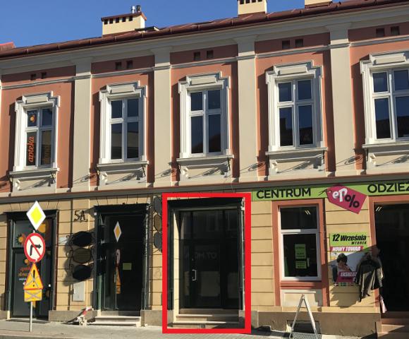 Lokal użytkowy w centrum Łańcuta